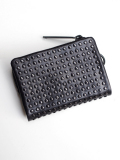 PATRICK STEPHAN (�ѥȥ�å����ƥե���) Leather micro wallet 'all-studs' - DAL STUDS #106AWA07  ��쥶��������åȡ�����ޤ���ۡ�