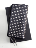 PATRICK STEPHAN (�ѥȥ�å����ƥե���) Leather long wallet 'all-studs' - SILVER STUDS #106AWA06  ��쥶��������åȡ�Ĺ���ۡ�