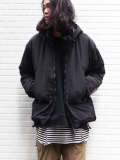 "【16AW】 wizzard (ウィザード)  ""HAPPY BLOUSON"" <中綿ブルゾン> - BLACK"