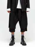 "【再入荷】 wizzard (ウィザード)  ""LAYERED PANTS 18SS"" <レイヤードパンツ> - BLACK"