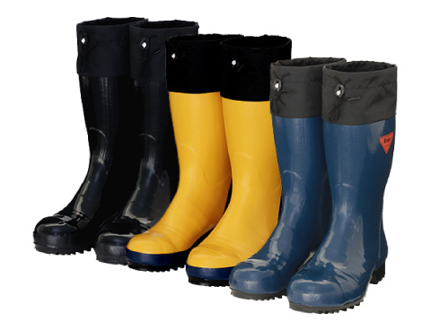 Safety Boots AB061・AB071・AB101 Safety Bear #500 / 安全長靴 AB061・AB071・AB101 セ ーフティベアー#500