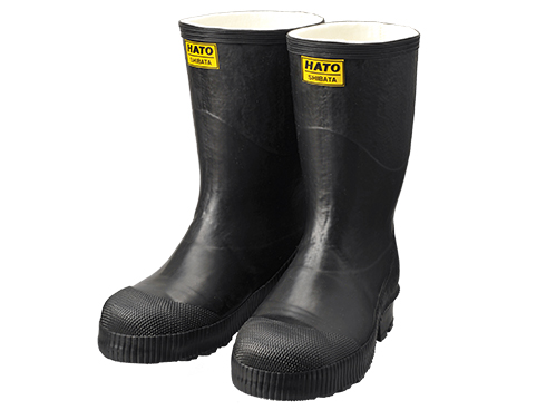 Safety Cold Weather Boots AC030 Cold Resistance Rubber Safety Boots with Felt Insoles / 安全防寒長靴 AC030 安全防寒フェルト長N5