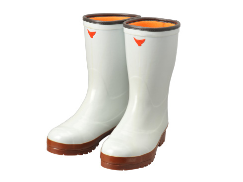 Safety Cold Weather Boots AC040 Safety Cold Resistance Super Clean 7 (White) / 安全防寒長靴 AC040 安全防寒スーパークリーン長7 型(白)
