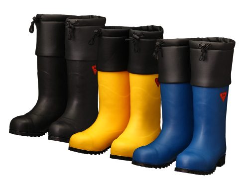 Safety Cold Weather Boots AC051・AC091・AC111 Safety  Bear #1001 / 安全防寒長靴 AC051・AC091・AC111 セ ーフティベアー#1001 白熊