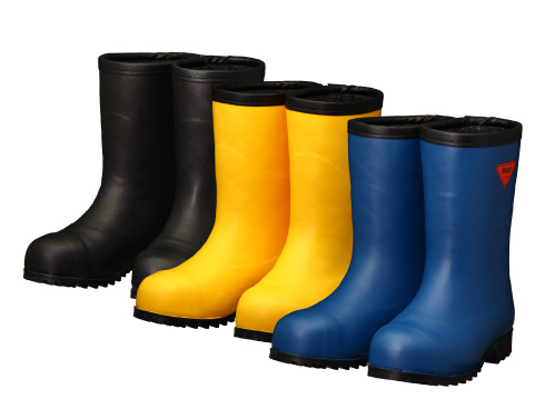 Safety Cold Weather Boots AC061・AC101・AC121 Safety Bear #1011 / 安全防寒長靴 AC061・AC101・AC121 セ ーフティベアー#1011 白熊(フード無し)