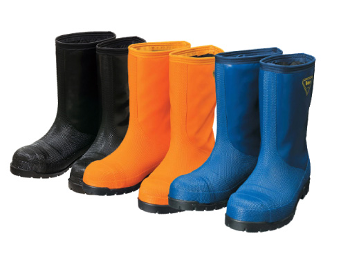 Freezer Boots NR021・NR031・NR041 Cold Resistance Rubber Boots -40℃ / 冷蔵庫長靴 NR021・NR031・NR041 冷蔵庫長-40℃