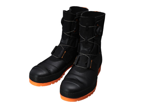 Safety Boots SB3004 (Black/Orange) CE / 安全長靴 SB3004(ブラック/オレンジ) CE