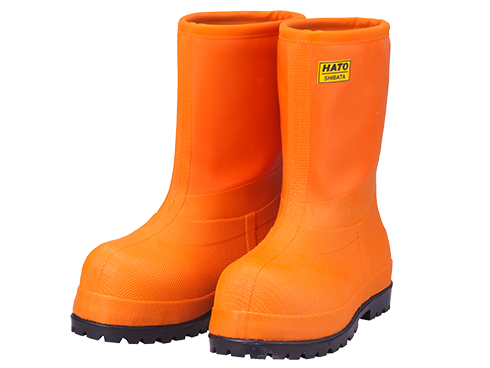 NR010  Cold Resistance Rubber Boots -60℃E (Orange) / NR010 冷蔵庫長-60℃E(オレンジ)