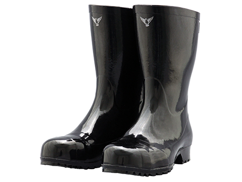 Safety Boots AK010 Rubber Safety Boots Original AK010 / 安全長靴 AK010 安全軽半長AK010
