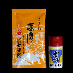 七味小袋(15g)&ケース付