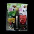 京の旅路(七味小袋プラスティック容器付、山椒袋プラスティック容器付、黒豆ぽん酢、おばんざいのもと(小)2個、練七味、煉)