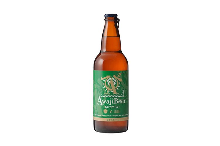 淡路島のクラフトビール あわぢびーる ピルスナー(中瓶500ml)