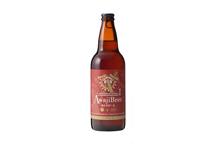 淡路島のクラフトビール あわぢびーる レッドエール(中瓶500ml)