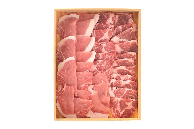 まろやかな舌ざわりと脂身のおいしさ「淡路島ポーク(猪豚)」ロース・肩ロース焼肉用