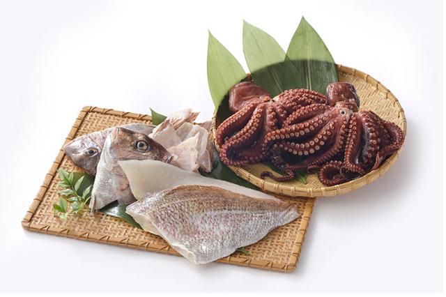 御食国(みけつくに)淡路島産 真鯛とプリプリ食感の煮たこセット