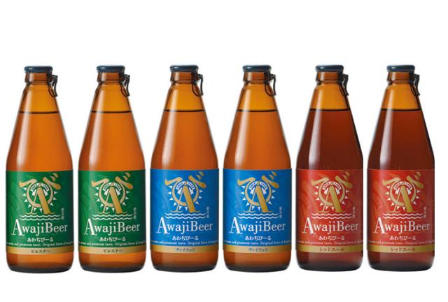 淡路島のクラフトビール あわぢびーる 3つの味飲み比べセット(6本)(送料込)