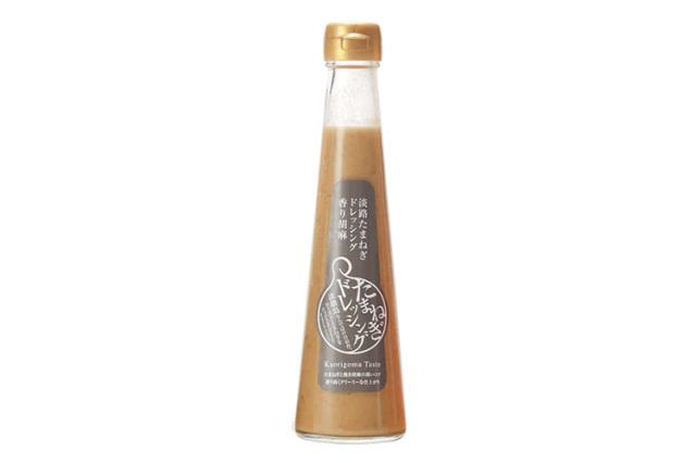 【ポイント特別還元対象商品】【合成着色料・保存料不使用】淡路たまねぎドレッシング 香り胡麻