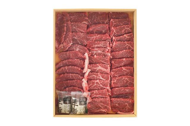 国内における牛肉の一大産地・淡路島の「淡路牛 赤身焼肉用」