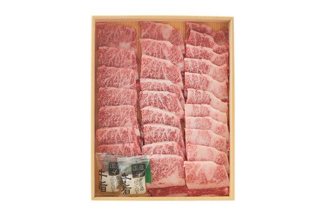 国内における牛肉の一大産地・淡路島の「淡路牛 カルビ焼肉用」