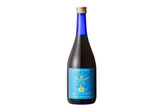 【平岡農園】発酵レモンの黄金蜜原液720ml 【添加物、保存料不使用】