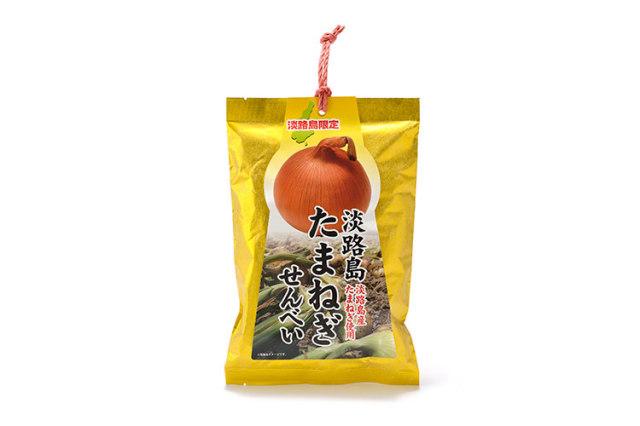 淡路島産たまねぎ使用、サクサク淡路島限定たまねぎせんべい