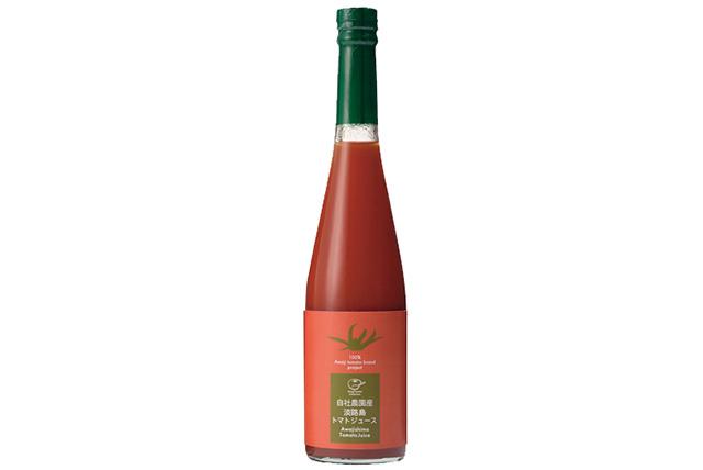 淡路島自社農園産の620本限定フレッシュトマトジュース1本