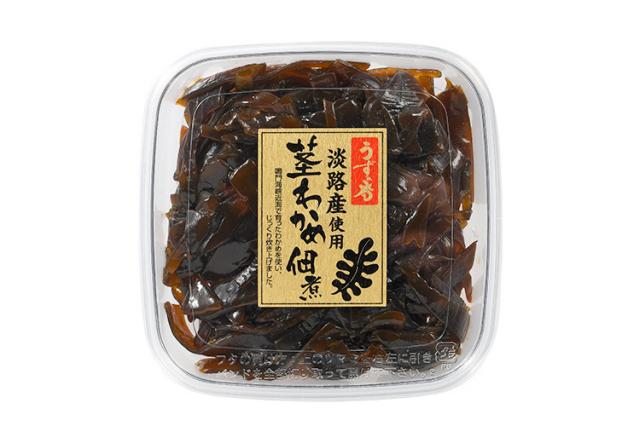 【ポイント特別還元対象商品】淡路島産 茎わかめ佃煮 うずの香
