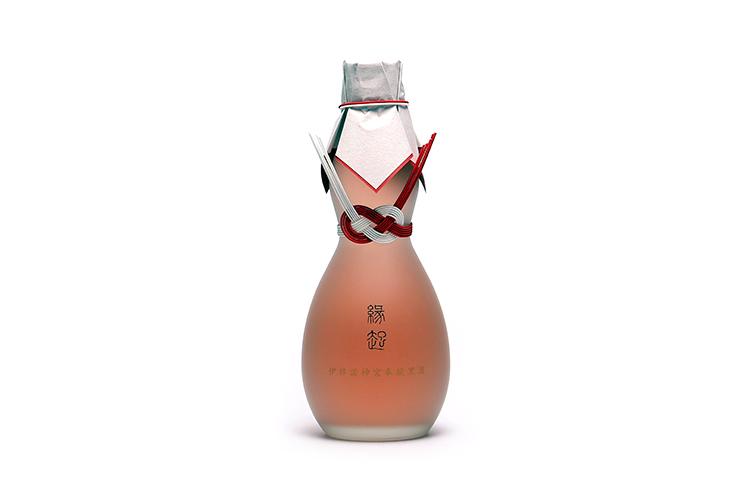 千年一 御神酒 古代米酒 「縁起」 伊弉諾神宮奉納黒酒