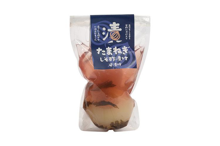 【生産数限定】淡路島産玉ねぎ しそ酢漬け 姿漬け