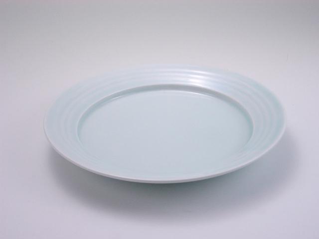太白LAKTAK7寸皿 しん窯 青花