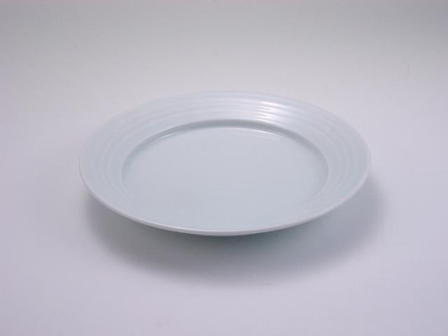 太白LAKTAK6寸皿 しん窯 青花