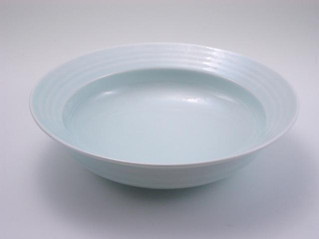 太白LAKTAK7寸鉢 しん窯 青花