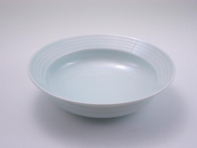 太白LAKTAK6寸鉢 しん窯 青花