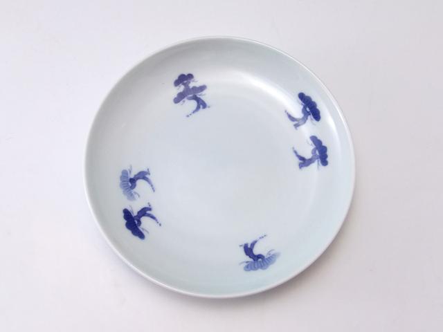 有田焼 青花匠 松林4.7寸皿