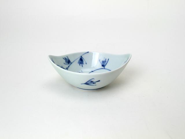 舟型小鉢 HANAKARAKUSA しん窯 青花