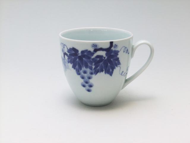 ぶどうマグカップ 青花 匠