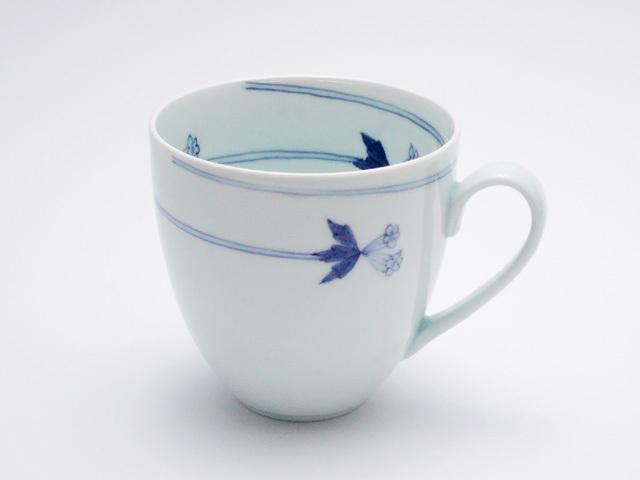 有田焼 青花匠 つるりんどうフリーカップ