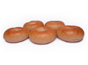 天然酵母と湧水を使った 「全粒粉プレーンベーグル」 5個セット 〜砂糖・乳製品・卵・添加物不使用〜