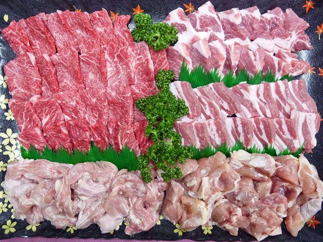 新村畜産オリジナル焼肉セット(7~8人前)