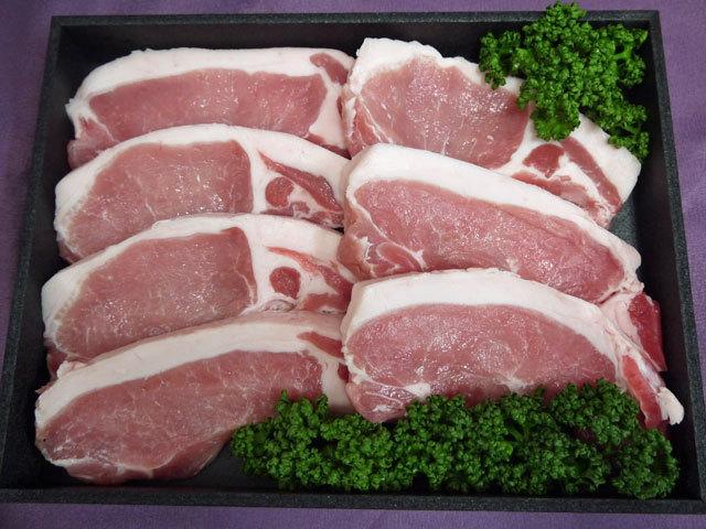鹿児島県産黒豚ロースとんかつ用 約700g
