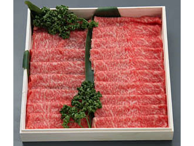 九州産特選黒毛和牛すき焼き用 約1kg入