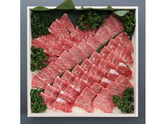 九州産特選黒毛和牛焼肉用 約1kg入