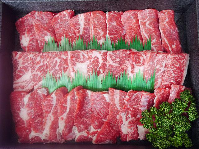 鹿児島・宮崎県産黒毛和牛焼肉用 約500g