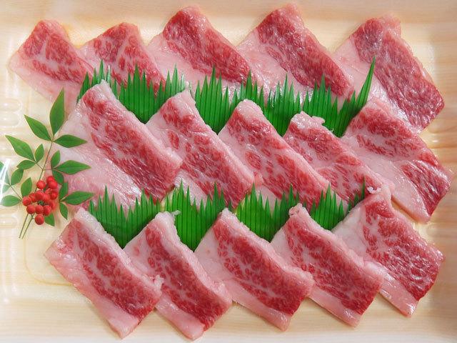 鹿児島県産黒毛和牛上カルビ焼肉用 約300g
