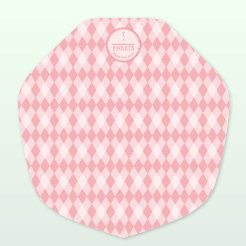 ラミクレープ包装紙ピンク