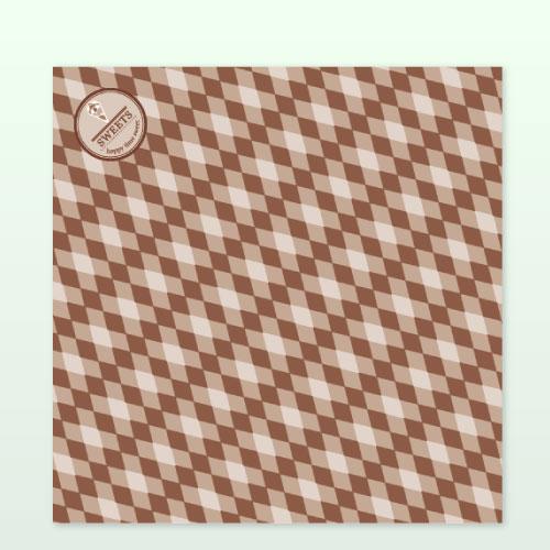 ラミクレープ包装紙ブラウン