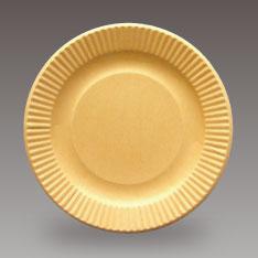 クラフト紙皿