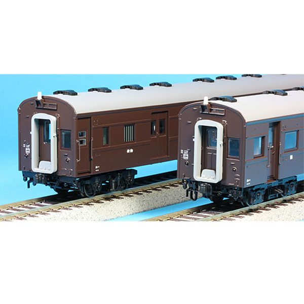 JR旧型客車C  高崎車両センター(無線アンテナ・車側灯付)4輌セット