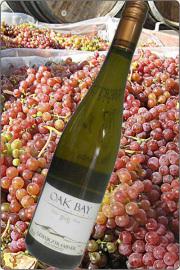 【超地産地消ワイン】     <2本以上で送料無料> カナダ産・白ワイン ゲベルツトラミネール2013年産