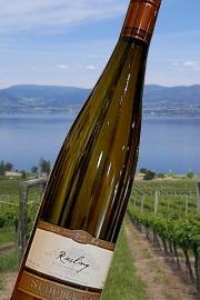 【超地産地消ワイン】     <2本以上で送料無料> カナダ産・白ワイン リースリング2014年産